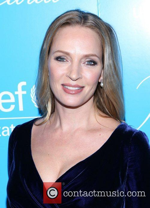 Uma Thurman and Unicef Snowflake Ball 6