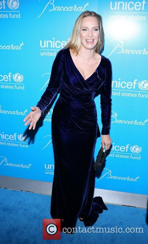 Uma Thurman and Unicef Snowflake Ball 4