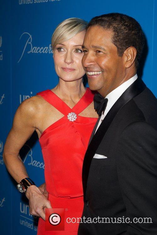 Bryant Gumbel and Hilary Quinlan 8th Annual UNICEF...