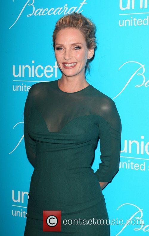 Uma Thurman  2011 UNICEF Snowflake Ball at...