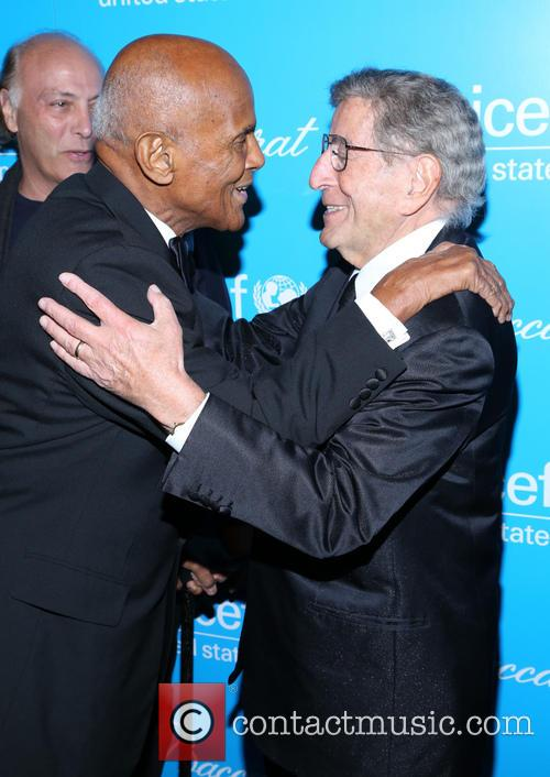 Harry Belafonte, Tony Bennett, UNICEF Ball