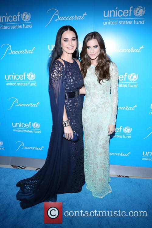 Katy Perry and Alison Williams, UNICEF Ball