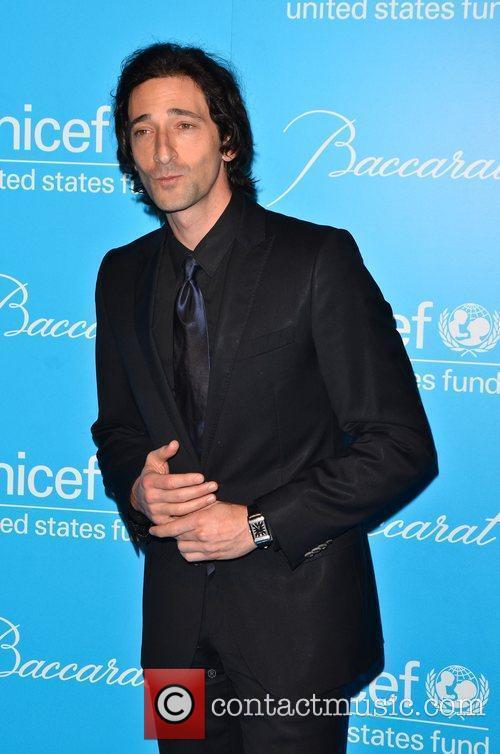 Adrien Brody 2011 UNICEF Snowflake Ball at Cipriani...