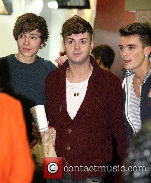 The X Factor finalists Union J at McDonald's