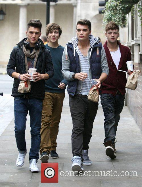 Jamie Hamblett, George Shelley, Josh Cuthbert, Jaymi Hensley and The X Factor 3