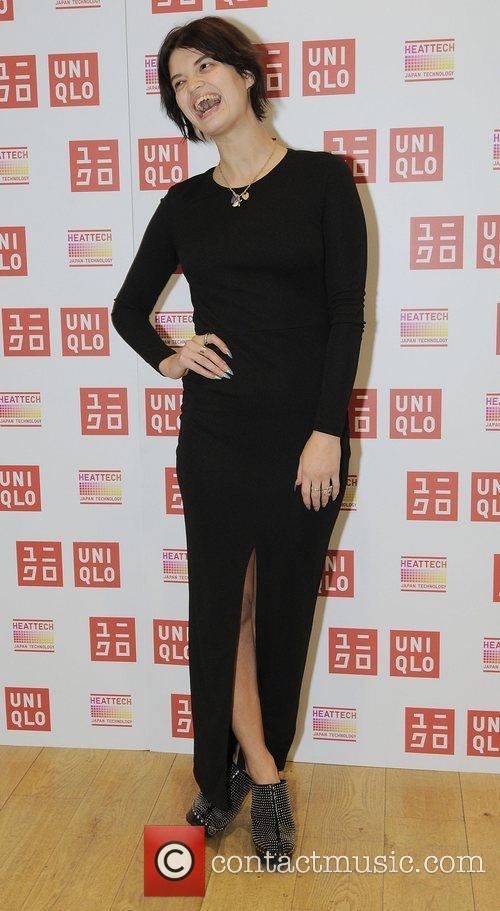 Uniqlo's HeatTech collection launch party at the Uniqlo...