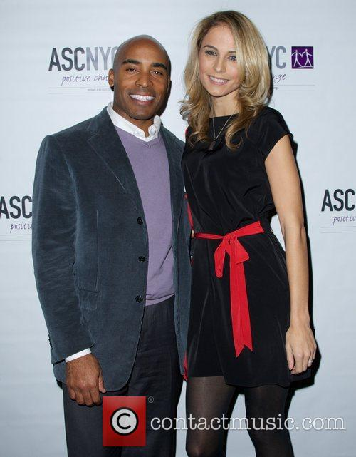 Tiki Barber and Traci Lynn Johnson 6