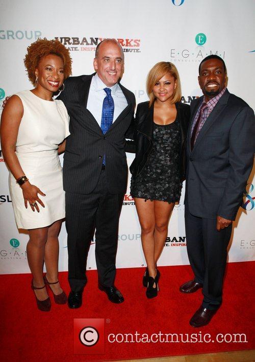 Teneshia Warner, Joel Curran and Kat Deluna 2