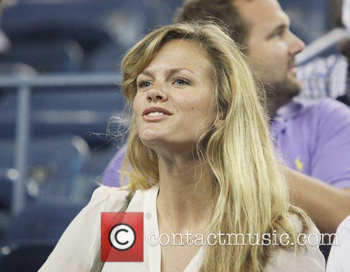 US Open 2012 Women's Match - Celebrity Sighting...