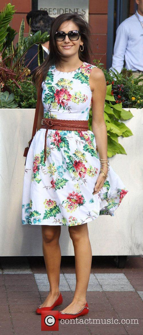 Camilla Belle,  at the 2012 U.S. Open...
