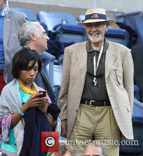 Sir Sean Connery, at the 2012 U.S. Open