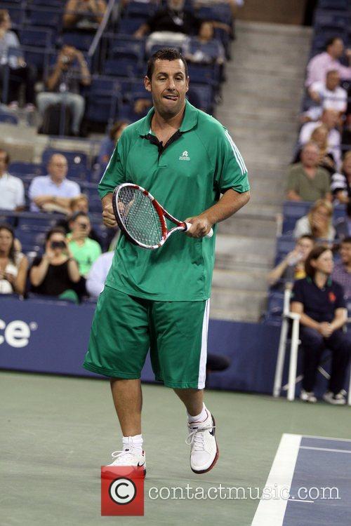 adam sandler us open 2012 mens match 5906291