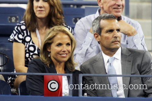 katie couric and john molner us open 5906309