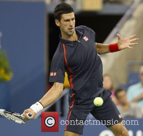 US Open 2012 Men's Match - Novak Djokovic...