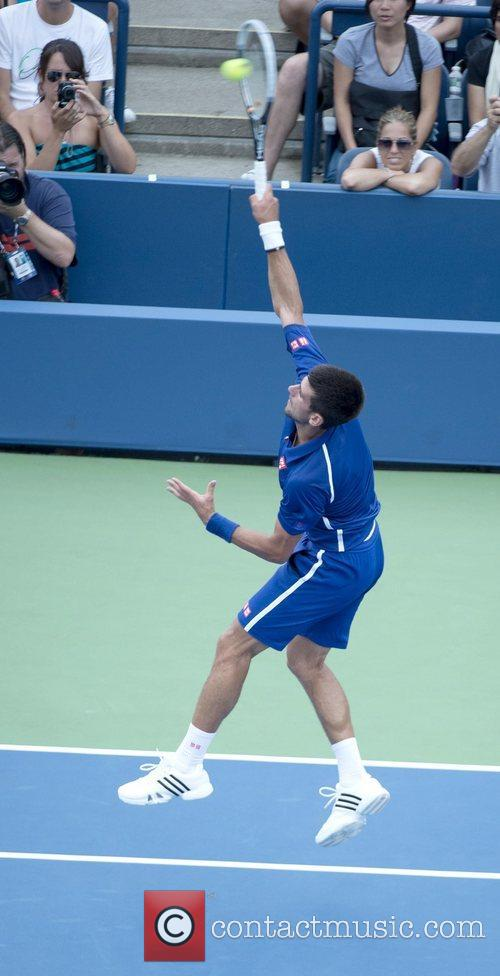 U.S. Open 2012 Men's Match - Novak Djokovic...