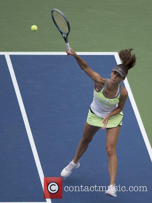 Svetlana Pironkova US Open 2012 Women's Match -...