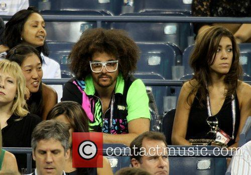 redfoo of lmfao us open 2012 mens 4051689