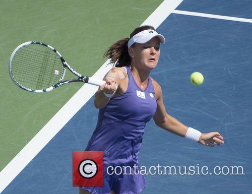 Agnieszka Radwanska US Open 2012 Women's Match -...