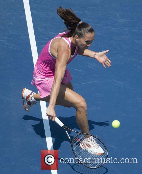 US Open 2012 Women's Match - Agnieszka Radwanska...