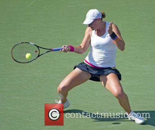 Mallory Burdette US Open 2012 Women's Match -...
