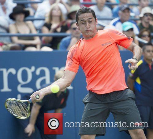 Nicolas Almagro  US Open 2012 Men's Match...