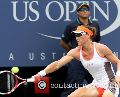 US Open 2012 Women's Match Samantha Stosur (AUS)...