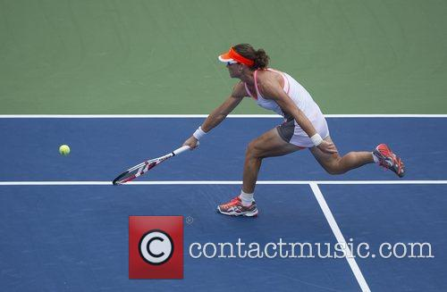 Samantha Stosur  US Open 2012 Women's Match...
