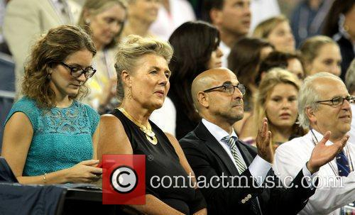 Felicity Blunt and Stanley Tucci Celebrities at the...
