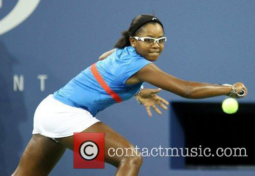 Victoria Duval  US Open 2012 Women's Match...