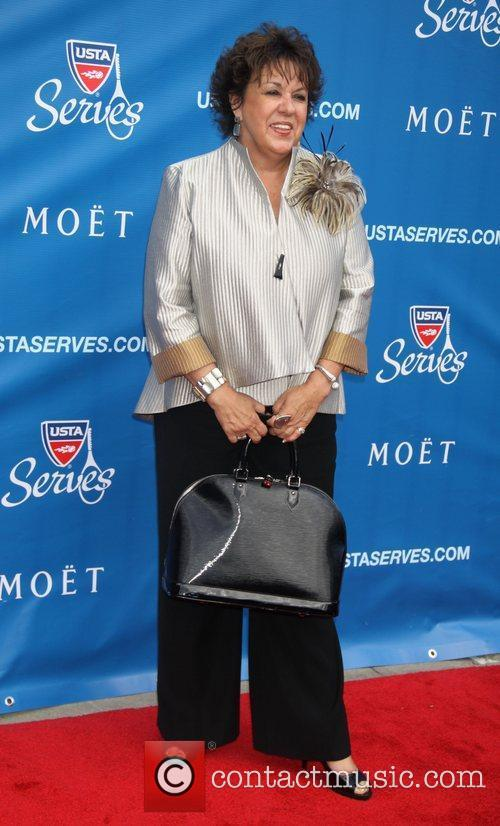Debbie Phelps attends the US Open 2012 Opening...