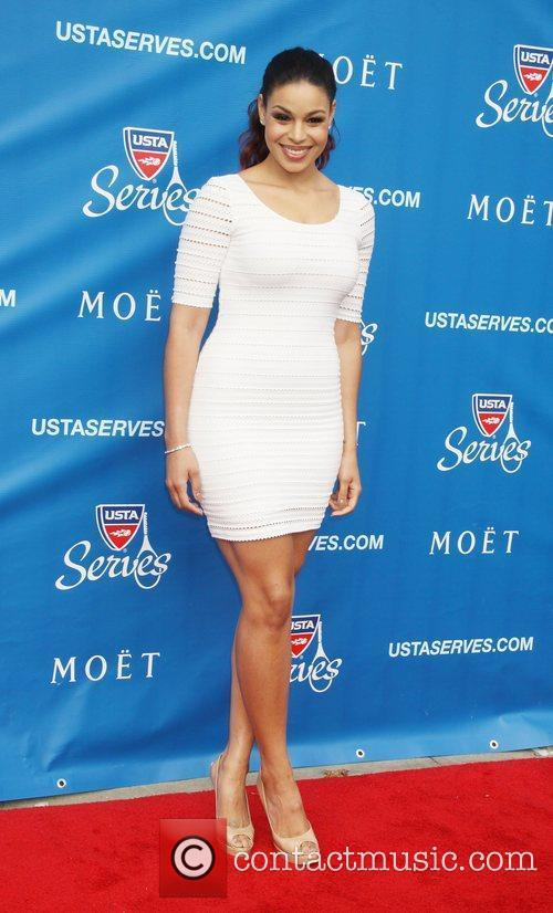 Jordin Sparks attends the US Open 2012 Opening...