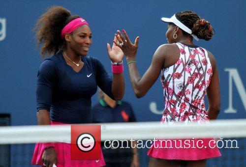 Serena Williams and Venus Williams 9