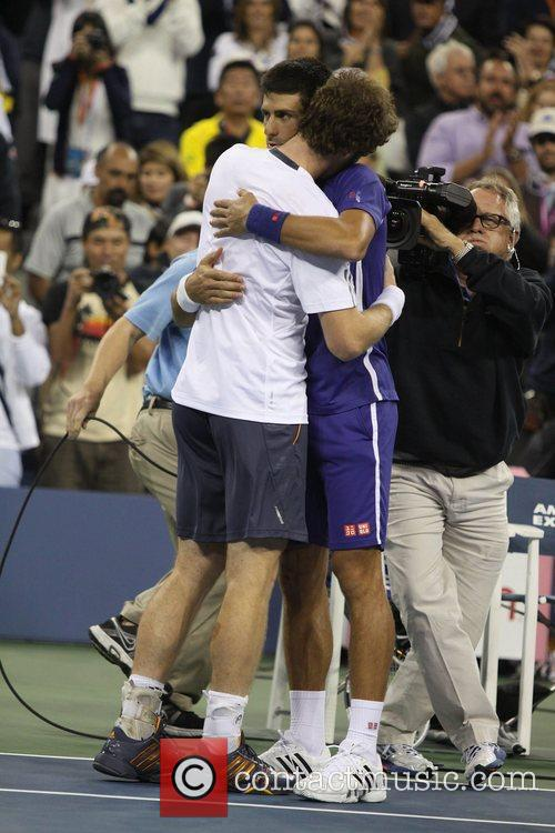 Andy Murray and Novak Djokovic 2