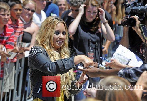 Demi Lovato judges arrive for the Kansas City...