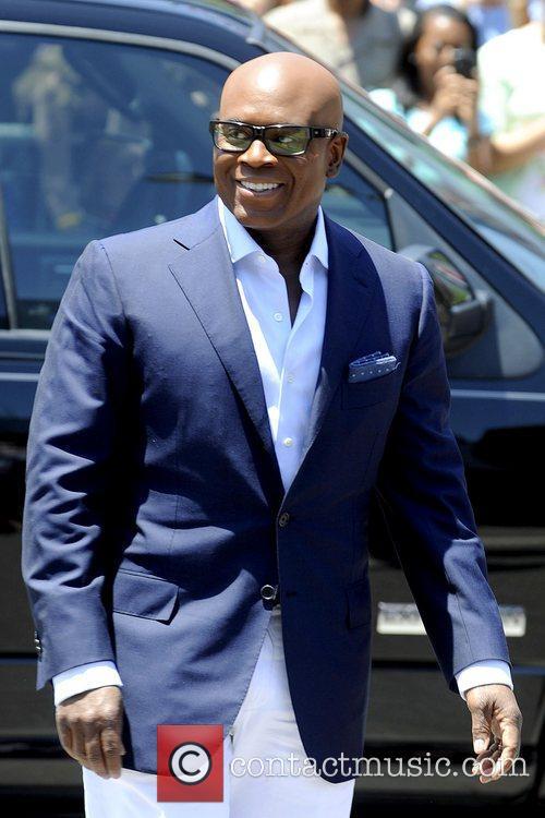 L.A. Reid judges arrive for the Kansas City...