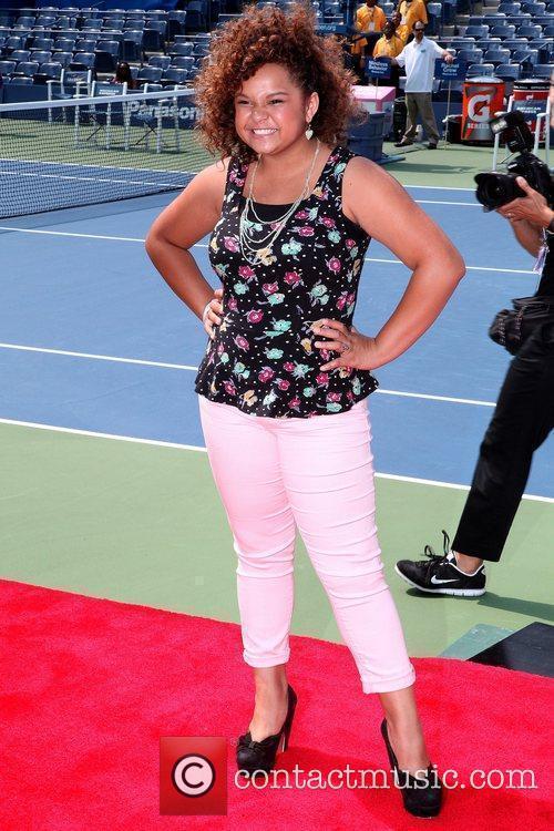 Rachel Crow Arthur Ashe Kids Day 2012, held...