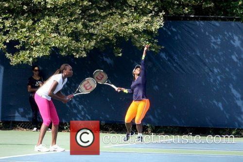 Venus Williams and Serena Williams 1