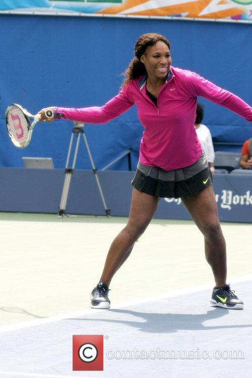 Serena Williams Arthur Ashe Kids Day 2012, held...