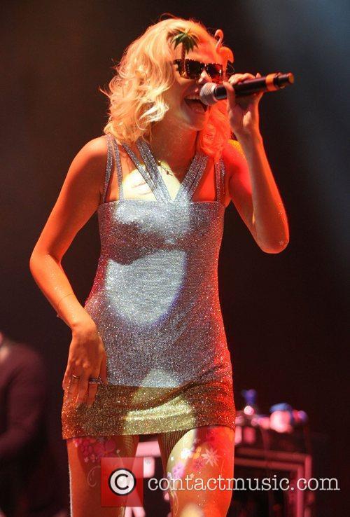 Pixie Lott and V Festival 20