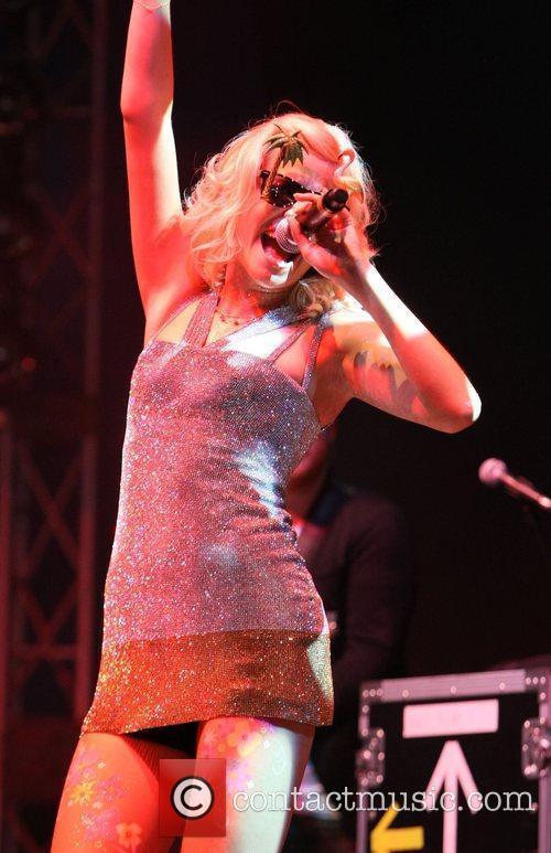 Pixie Lott and V Festival 21