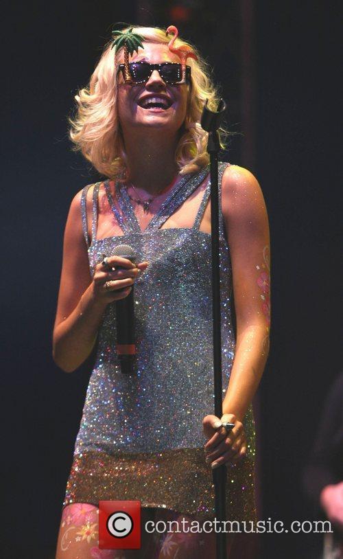 Pixie Lott and V Festival 22