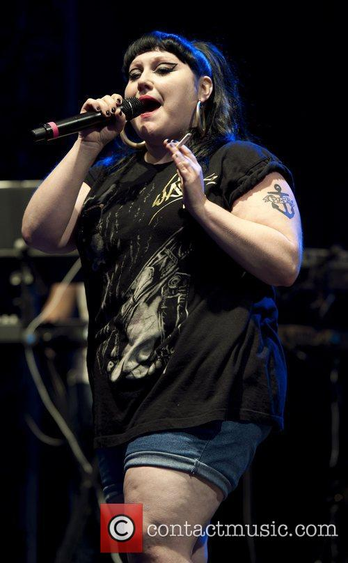 Beth Ditto and V Festival 9
