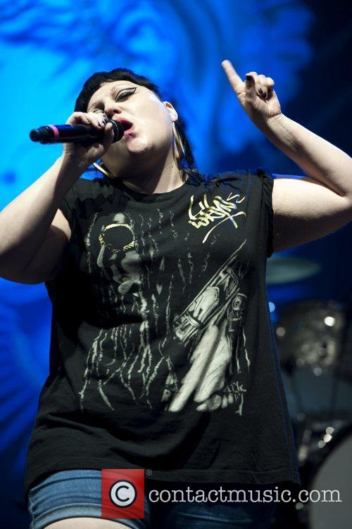 Beth Ditto and V Festival 7