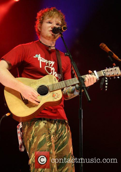 Ed Sheeran and V Festival 2