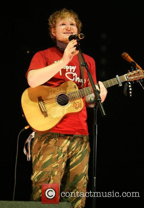 Ed Sheeran and V Festival 4