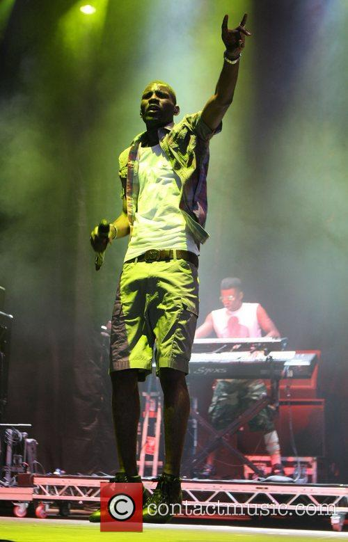 Wretch 32 and V Festival 6