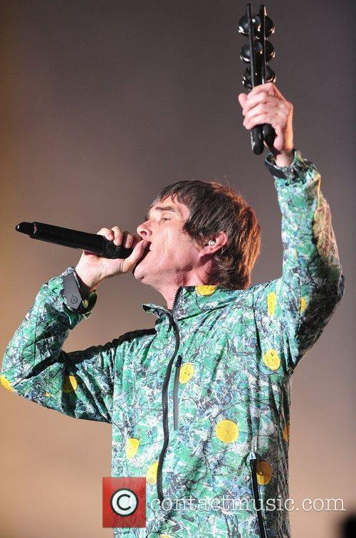 Ian Brown, The Stone Roses, V Festival