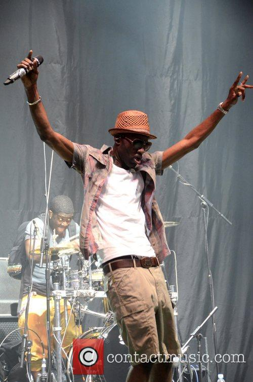 Wretch 32 and V Festival 10