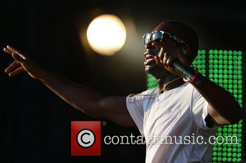 Tinie Tempah V Festival 2012 held at Hylands...
