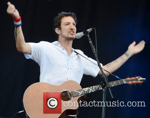 Frank Turner V Festival 2012 held at Hylands...